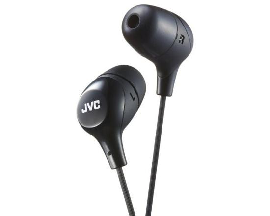 Vaizdas JVC, HA-FX38BE, juodos sp. dinaminės ausinės